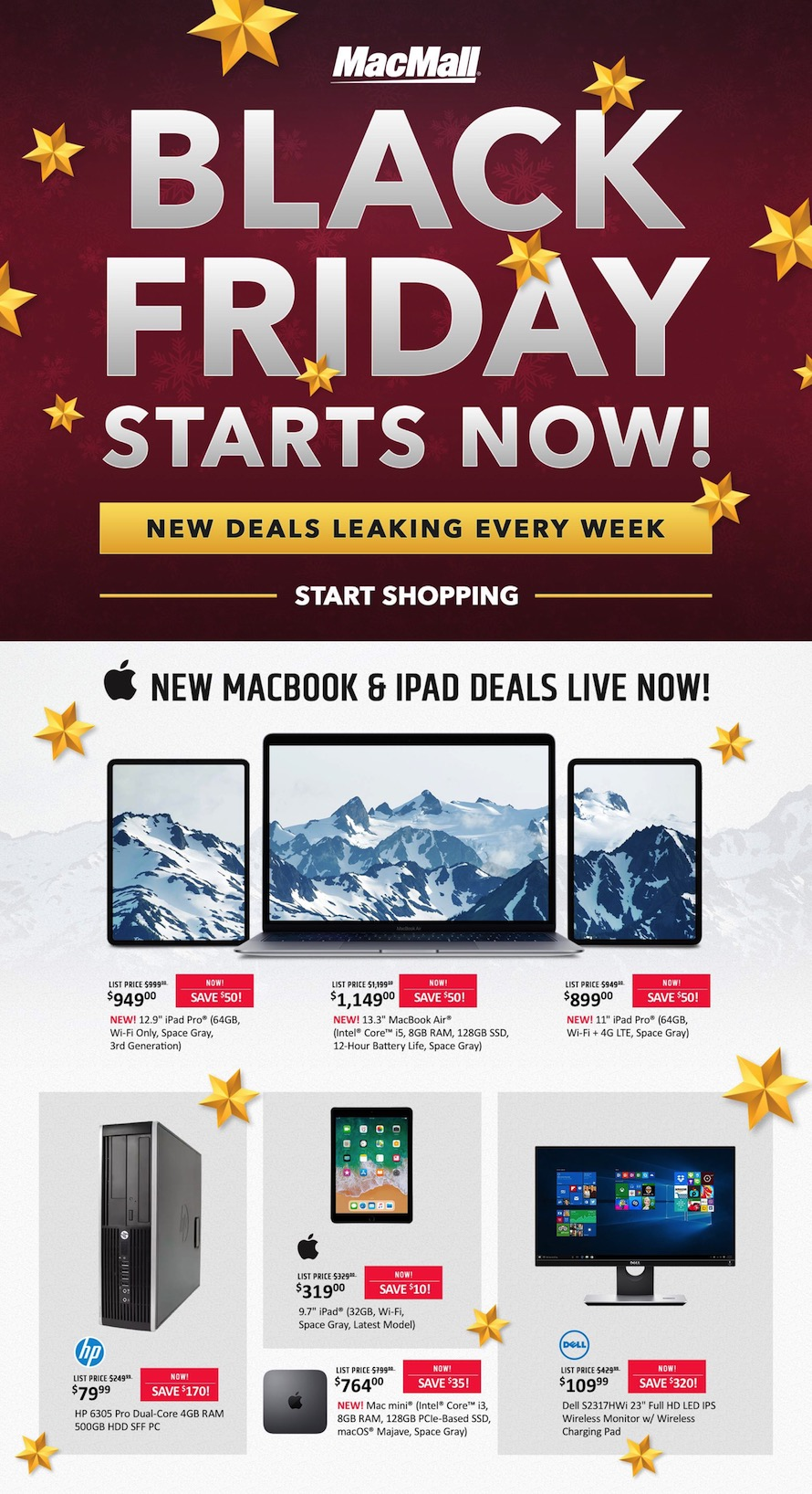 MacMall Black Friday page 1